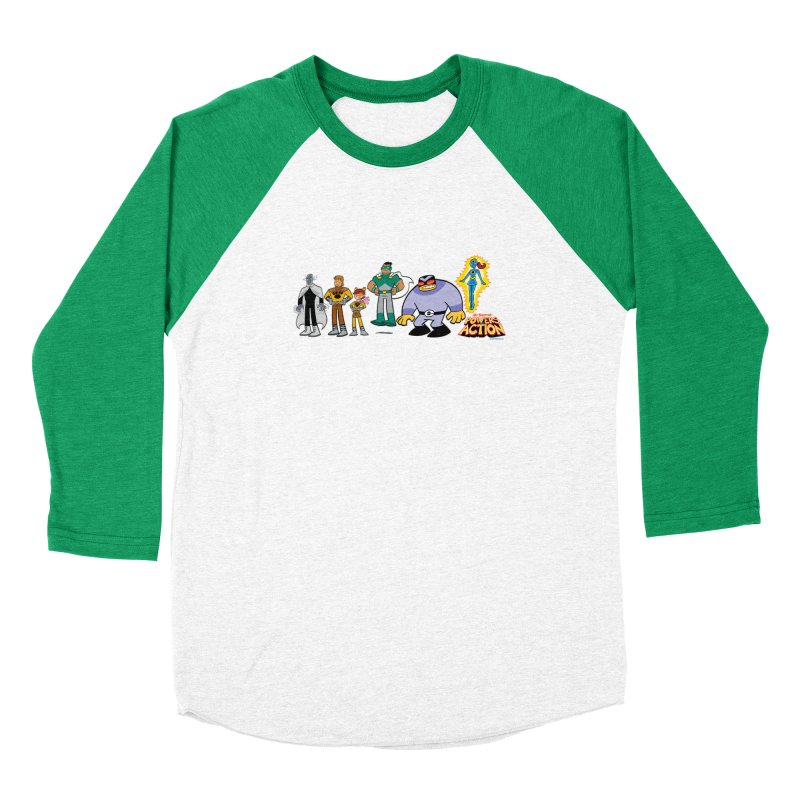 The HERO SQUADRON Line-Up! Women's Longsleeve T-Shirt by Art Baltazar