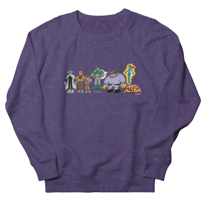 The HERO SQUADRON Line-Up! Women's Sweatshirt by Art Baltazar