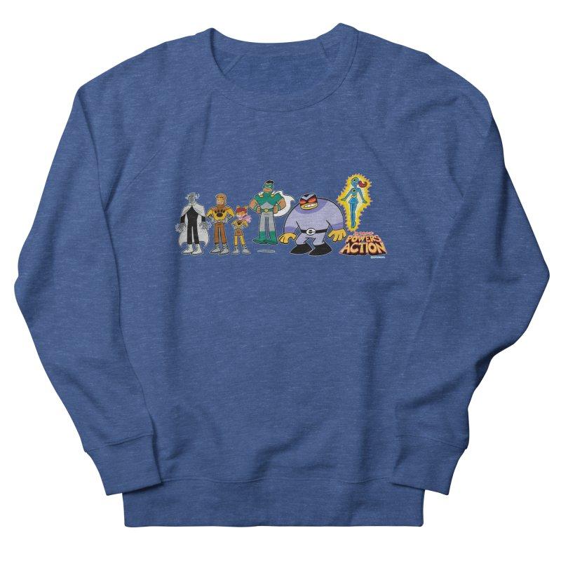 The HERO SQUADRON Line-Up! Men's Sweatshirt by Art Baltazar