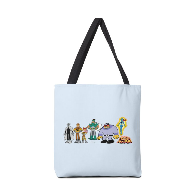 The HERO SQUADRON Line-Up! Accessories Bag by Art Baltazar