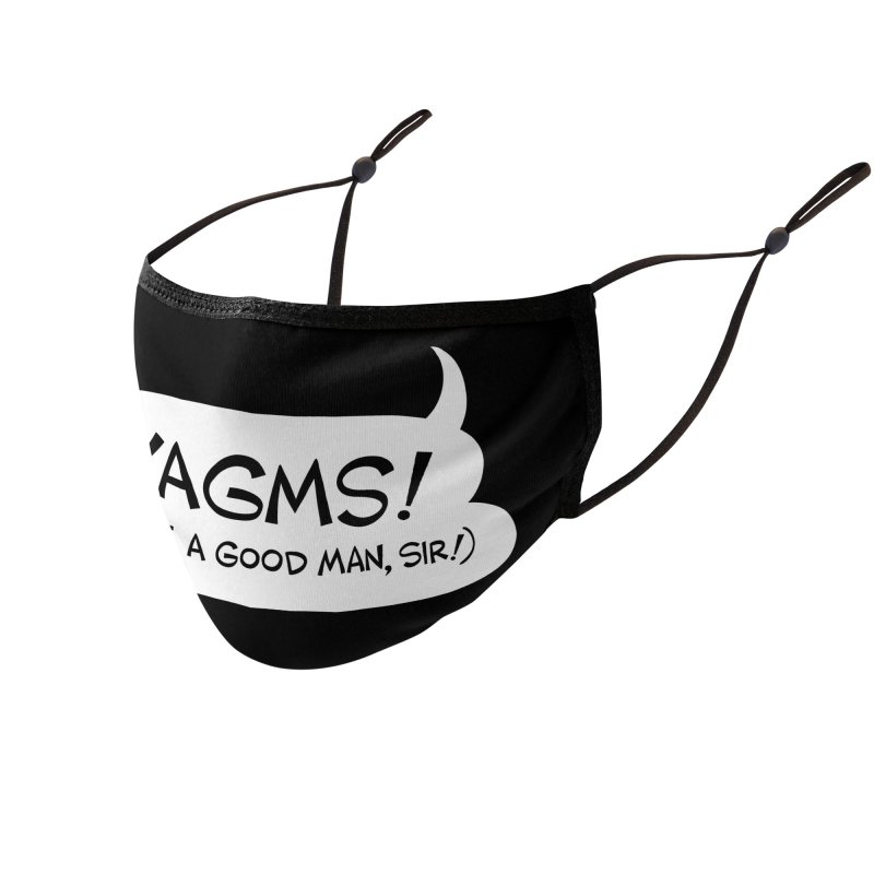 YAGMS! (you're a good man, sir!) Accessories Face Mask by Art Baltazar