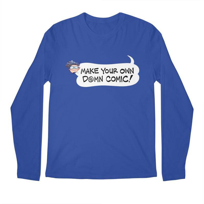 MAKE YOUR OWN D@MN COMIC! Men's Longsleeve T-Shirt by Art Baltazar