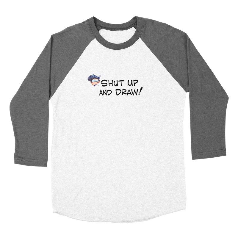 SHUT UP AND DRAW! Women's Longsleeve T-Shirt by Art Baltazar
