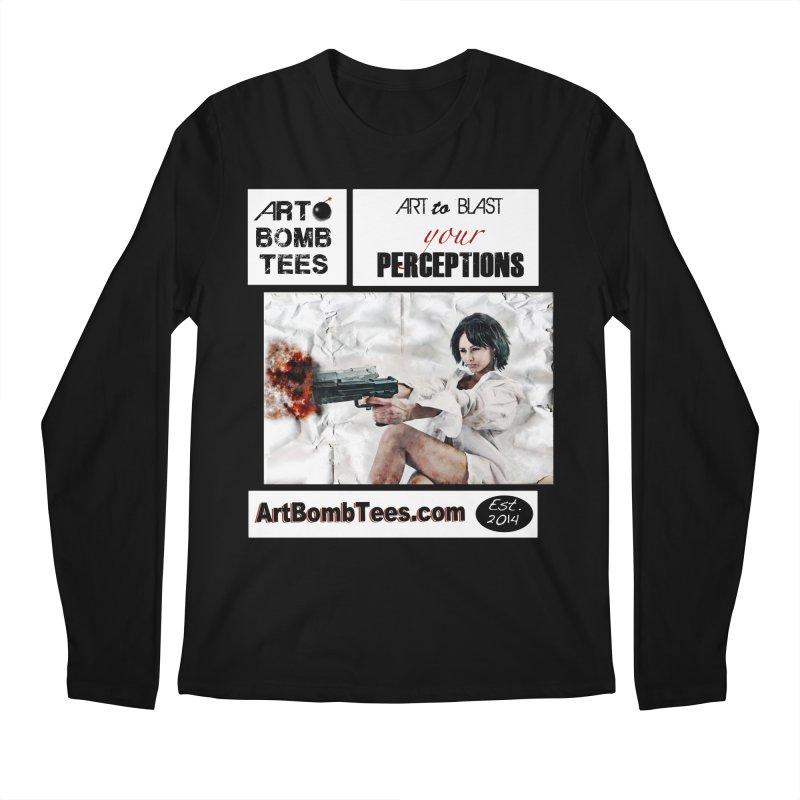 Art to Blast Your Perceptions Men's Longsleeve T-Shirt by artbombtees's Artist Shop
