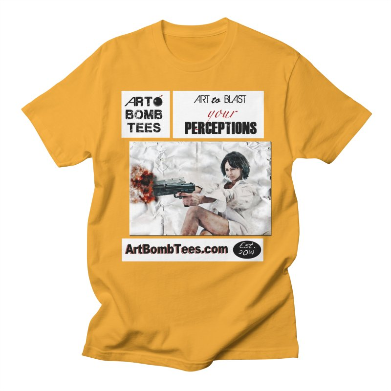 Art to Blast Your Perceptions Men's T-shirt by artbombtees's Artist Shop
