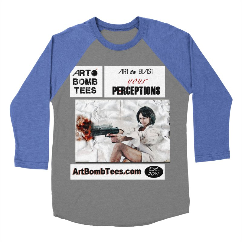 Art to Blast Your Perceptions Women's Baseball Triblend T-Shirt by artbombtees's Artist Shop