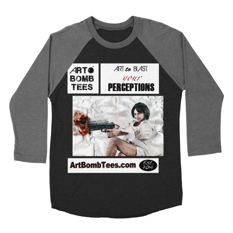 Art to Blast Your Perceptions Men's Baseball Triblend T-Shirt by artbombtees's Artist Shop