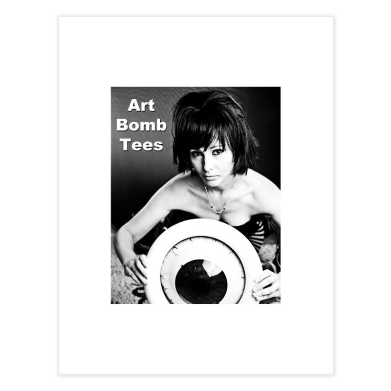 Eye of the Beholder Home Fine Art Print by artbombtees's Artist Shop