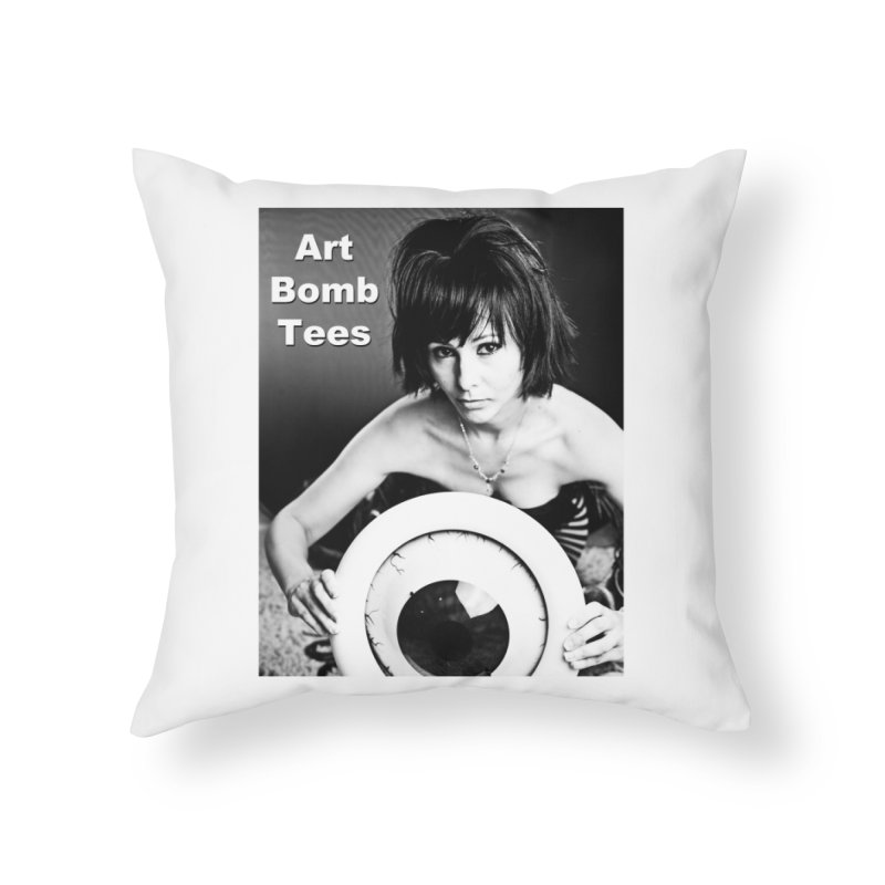 Eye of the Beholder Home Throw Pillow by artbombtees's Artist Shop