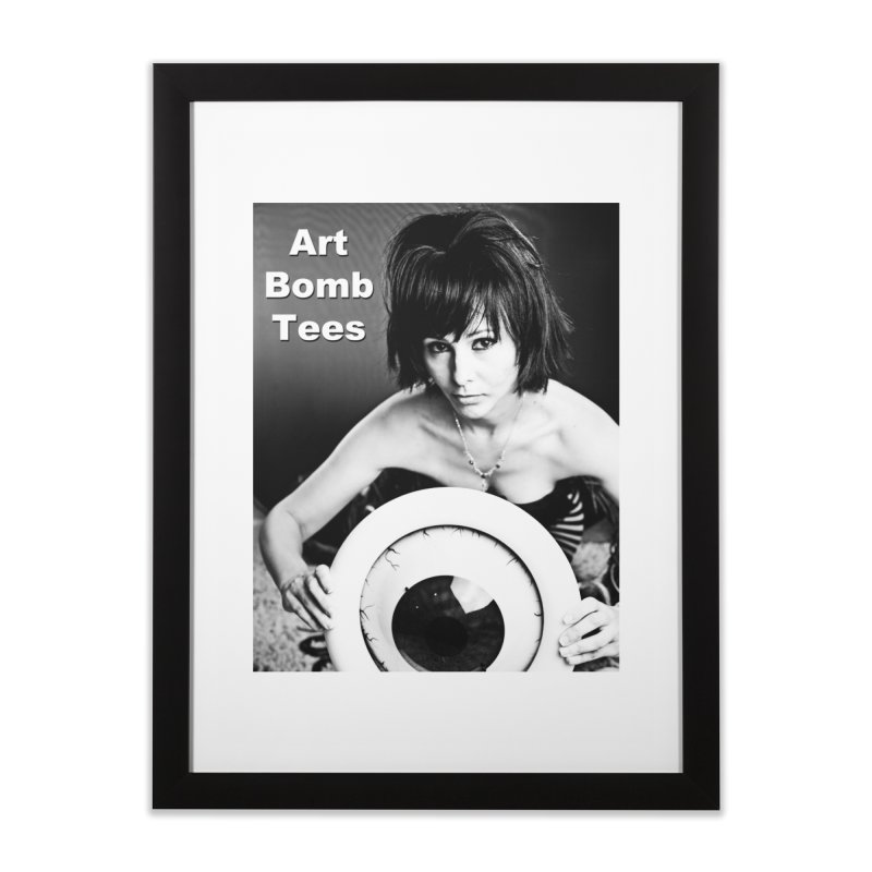 Eye of the Beholder Home Framed Fine Art Print by artbombtees's Artist Shop
