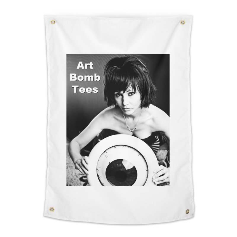 Eye of the Beholder Home Tapestry by artbombtees's Artist Shop