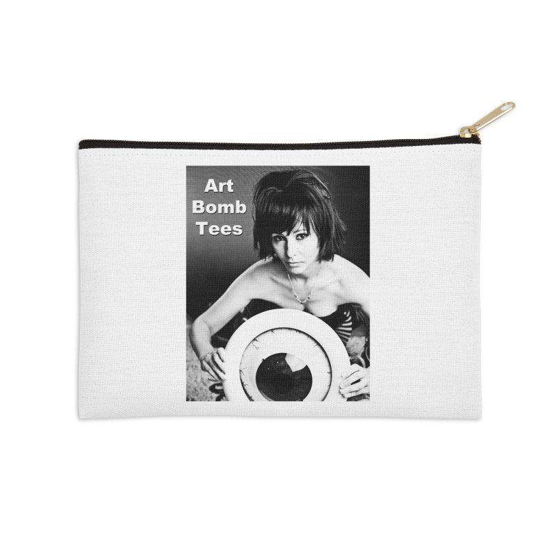 Eye of the Beholder Accessories Zip Pouch by artbombtees's Artist Shop