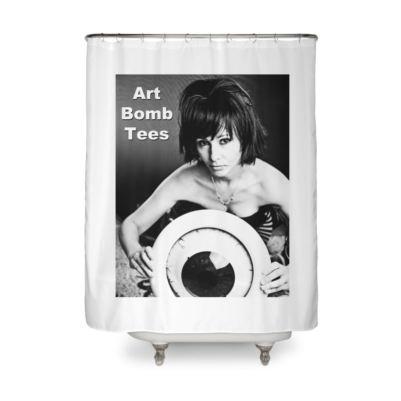 Eye of the Beholder Home Shower Curtain by artbombtees's Artist Shop