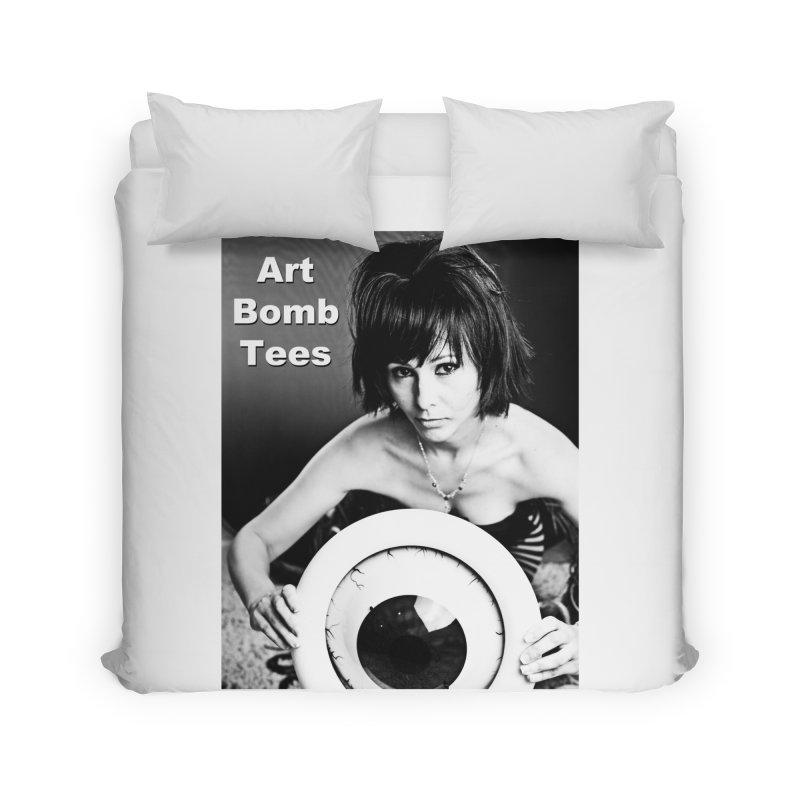 Eye of the Beholder Home Duvet by artbombtees's Artist Shop