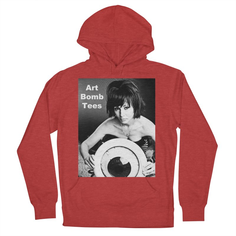 Eye of the Beholder - Borderless Women's French Terry Pullover Hoody by artbombtees's Artist Shop