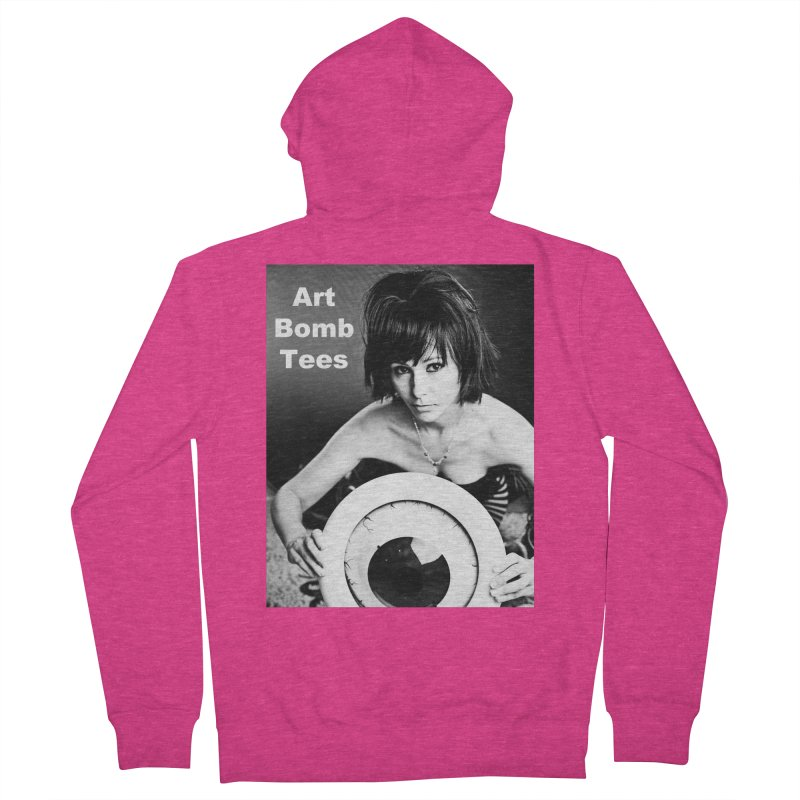 Eye of the Beholder - Borderless Women's Zip-Up Hoody by artbombtees's Artist Shop