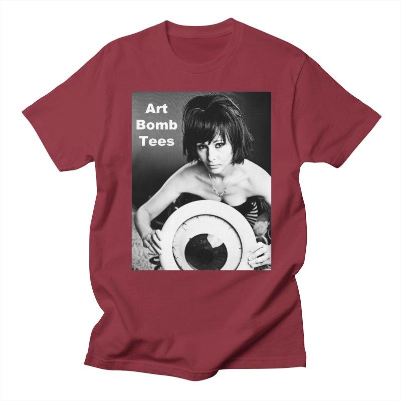 Eye of the Beholder - Borderless Men's T-shirt by artbombtees's Artist Shop