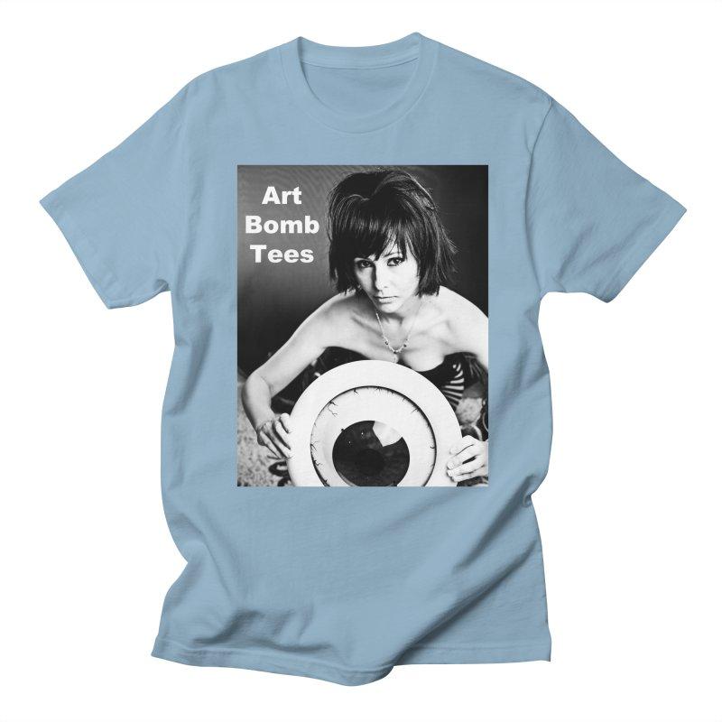 Eye of the Beholder - Borderless Men's Regular T-Shirt by artbombtees's Artist Shop