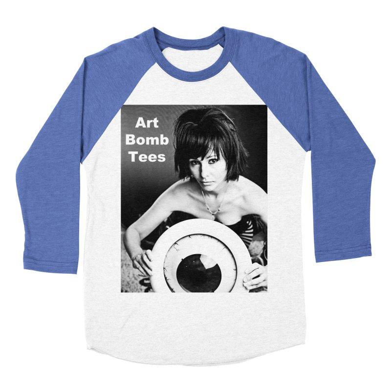 Eye of the Beholder - Borderless Women's Baseball Triblend Longsleeve T-Shirt by artbombtees's Artist Shop