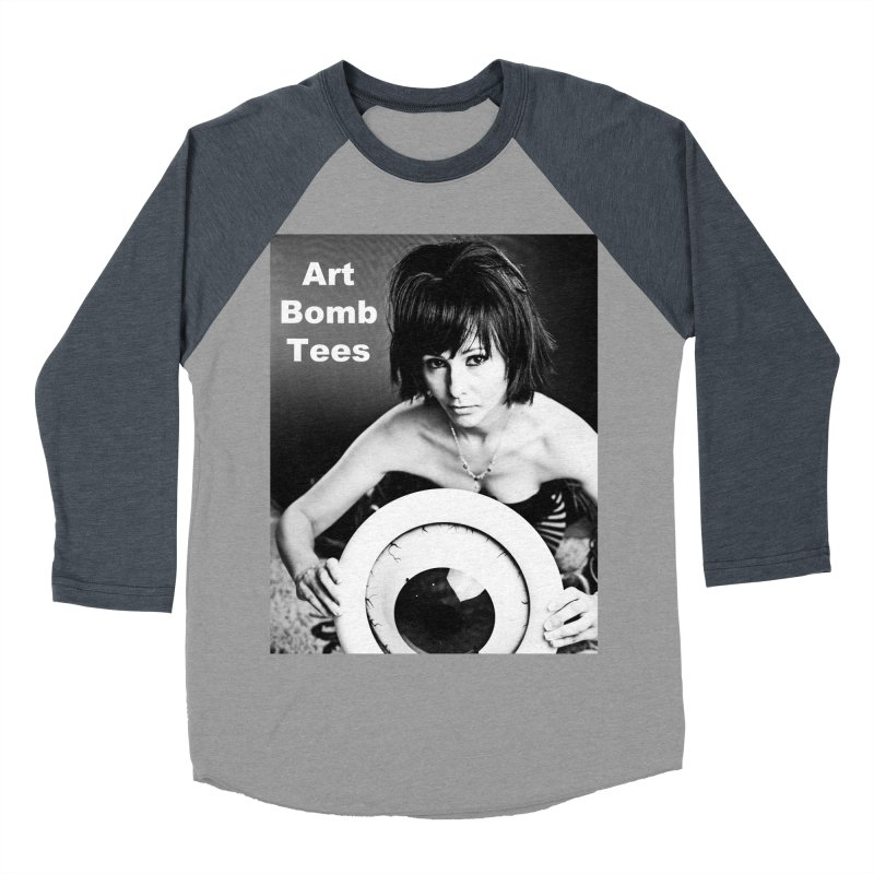 Eye of the Beholder - Borderless Women's Baseball Triblend T-Shirt by artbombtees's Artist Shop
