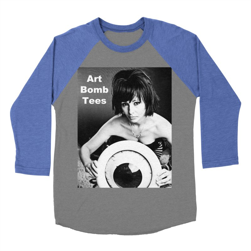 Eye of the Beholder - Borderless Men's Baseball Triblend Longsleeve T-Shirt by artbombtees's Artist Shop