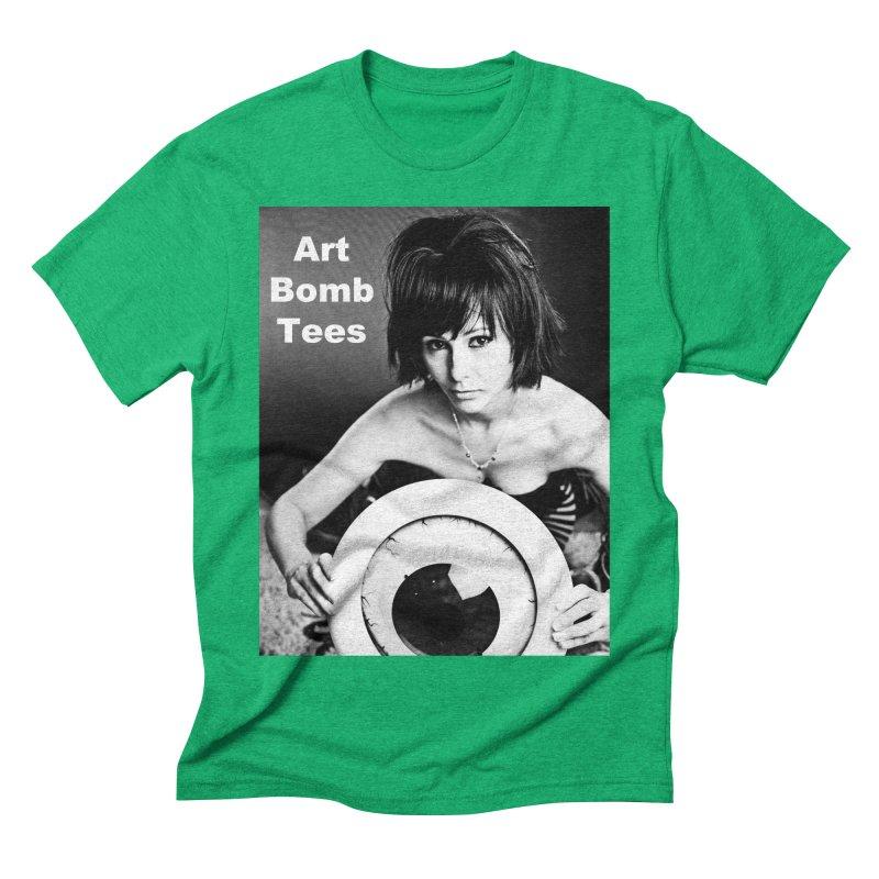 Eye of the Beholder - Borderless Men's Triblend T-shirt by artbombtees's Artist Shop