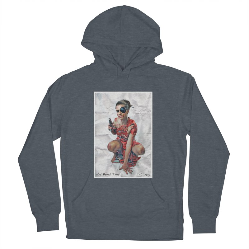Army of One - Color Women's French Terry Pullover Hoody by artbombtees's Artist Shop