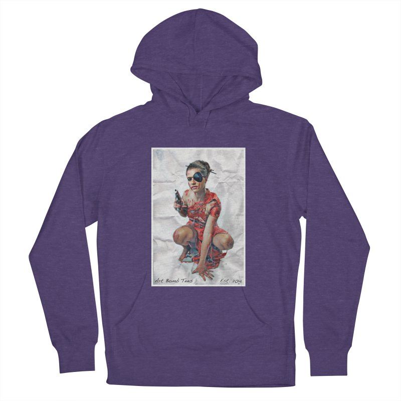 Army of One - Color Men's French Terry Pullover Hoody by artbombtees's Artist Shop