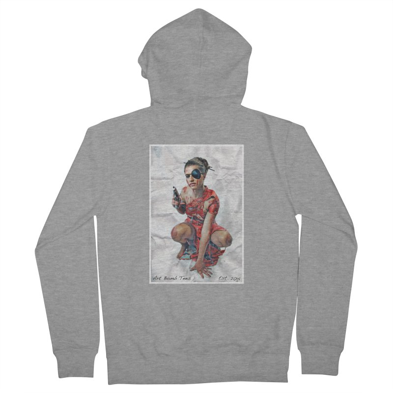 Army of One - Color Women's Zip-Up Hoody by artbombtees's Artist Shop