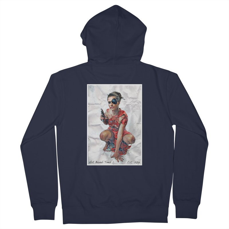 Army of One - Color Men's Zip-Up Hoody by artbombtees's Artist Shop