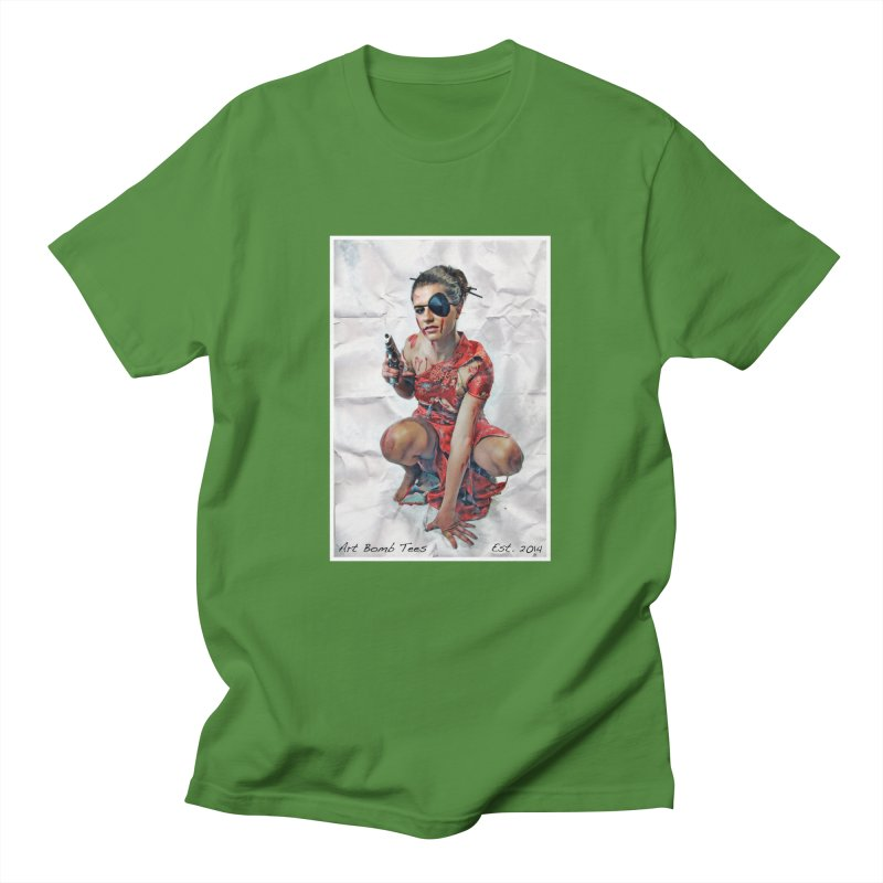 Army of One - Color Men's T-Shirt by artbombtees's Artist Shop