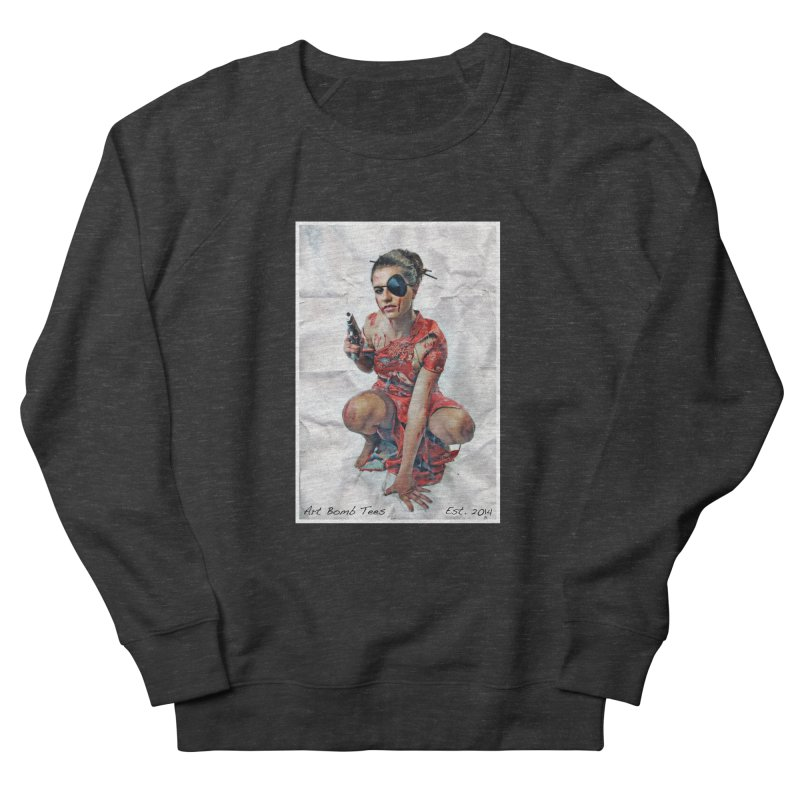 Army of One - Color Women's French Terry Sweatshirt by artbombtees's Artist Shop