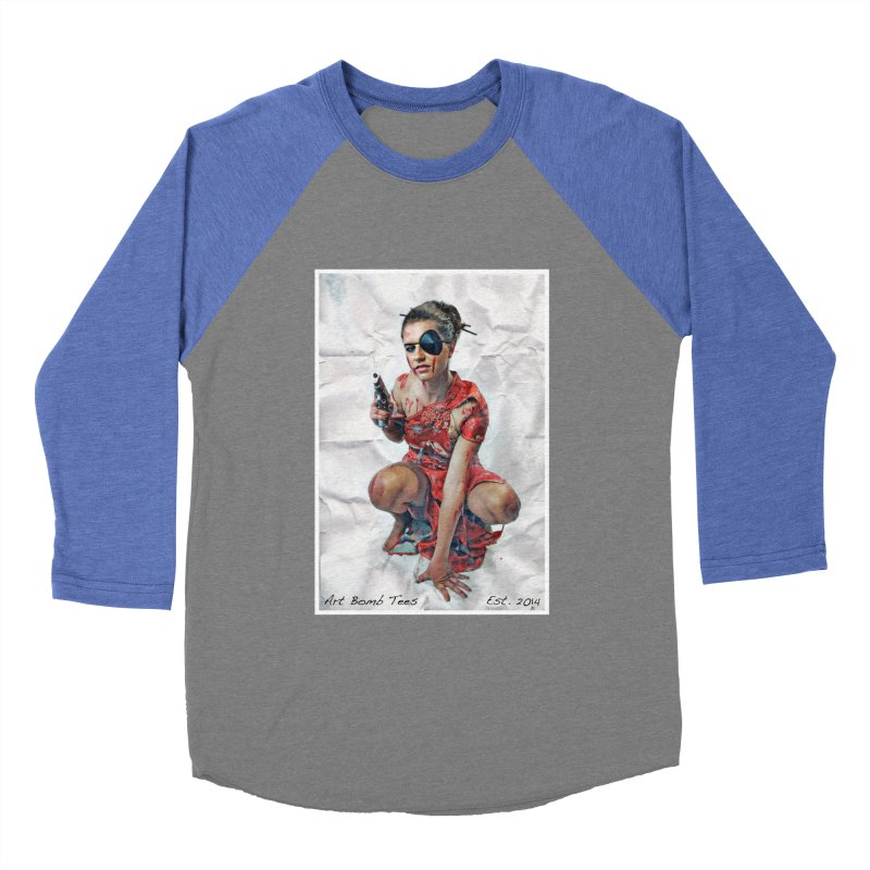 Army of One - Color Women's Baseball Triblend Longsleeve T-Shirt by artbombtees's Artist Shop