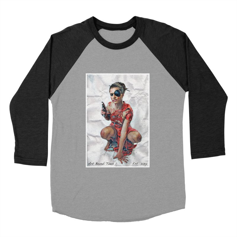 Army of One - Color Women's Baseball Triblend T-Shirt by artbombtees's Artist Shop