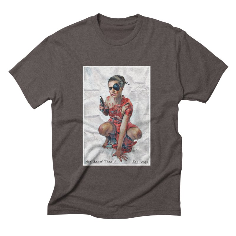 Army of One - Color Men's Triblend T-shirt by artbombtees's Artist Shop