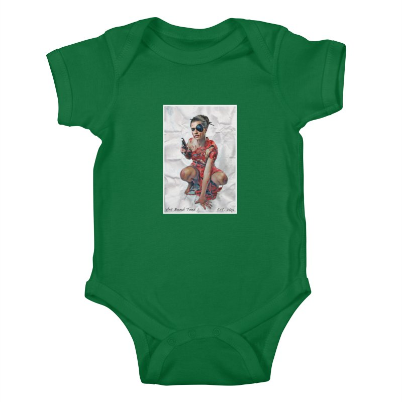 Army of One - Color Kids Baby Bodysuit by artbombtees's Artist Shop