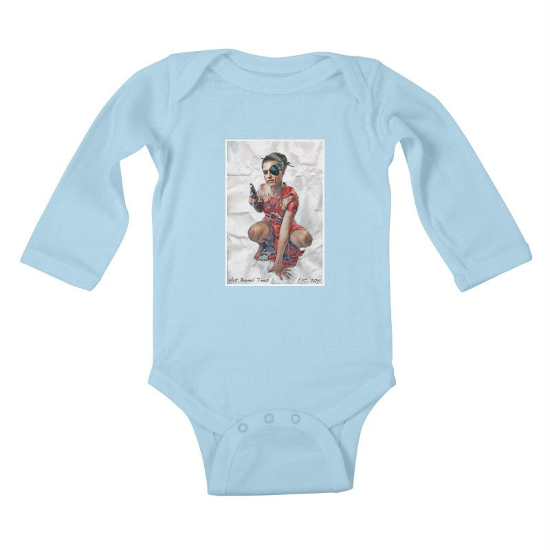 Army of One - Color Kids Baby Longsleeve Bodysuit by artbombtees's Artist Shop