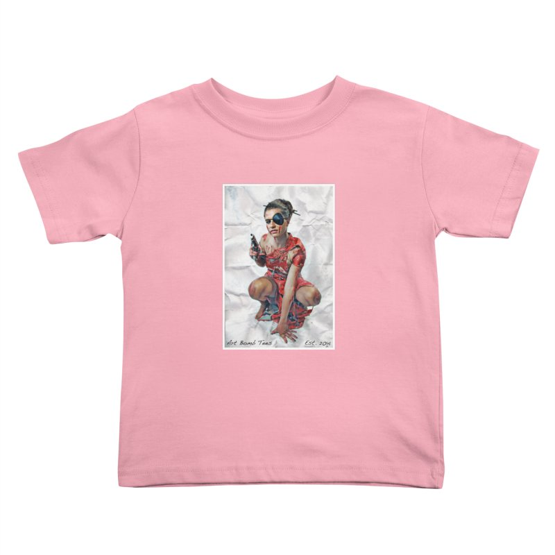 Army of One - Color Kids Toddler T-Shirt by artbombtees's Artist Shop