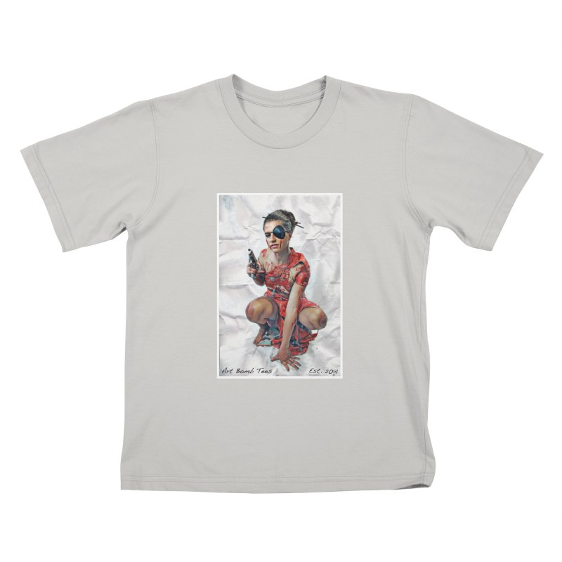 Army of One - Color Kids T-shirt by artbombtees's Artist Shop