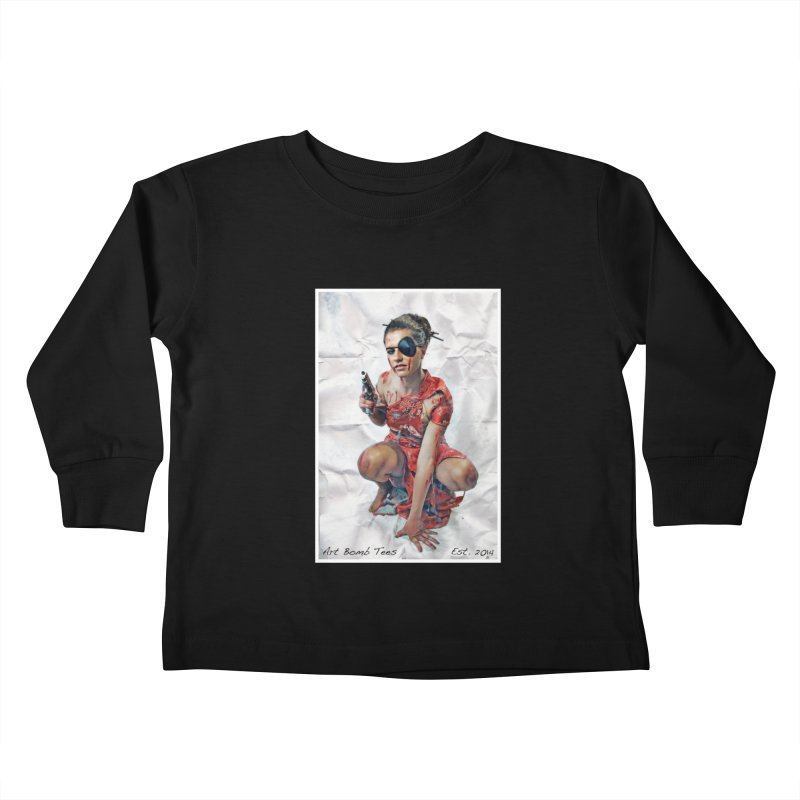 Army of One - Color Kids Toddler Longsleeve T-Shirt by artbombtees's Artist Shop