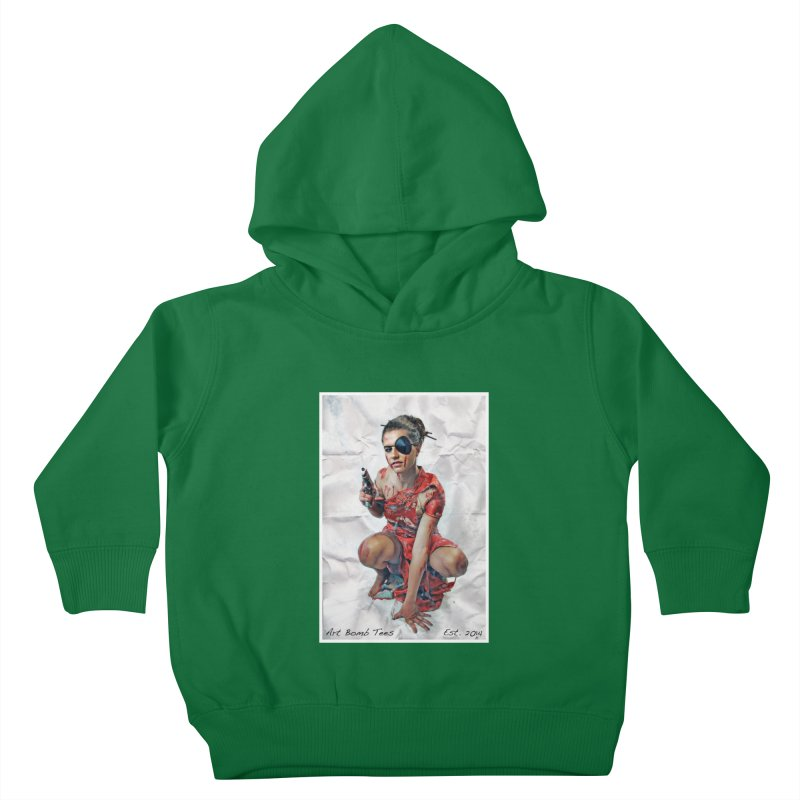 Army of One - Color Kids Toddler Pullover Hoody by artbombtees's Artist Shop