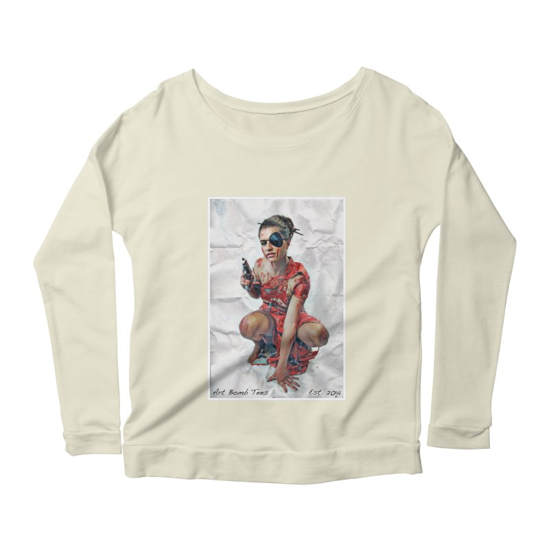 Army of One - Color Women's Longsleeve Scoopneck  by artbombtees's Artist Shop