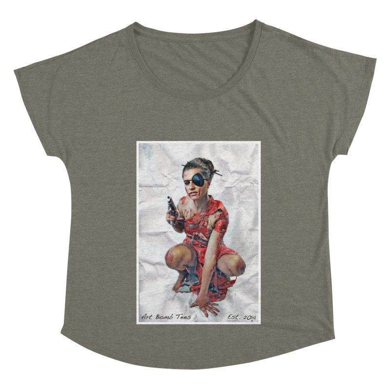 Army of One - Color Women's Scoop Neck by artbombtees's Artist Shop