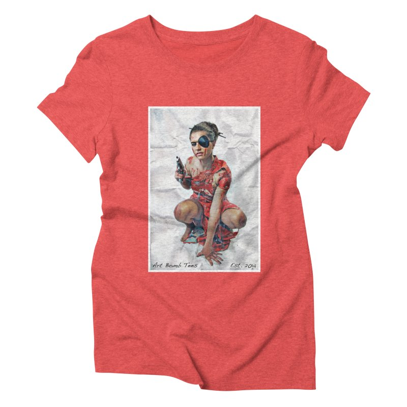 Army of One - Color Women's T-Shirt by artbombtees's Artist Shop