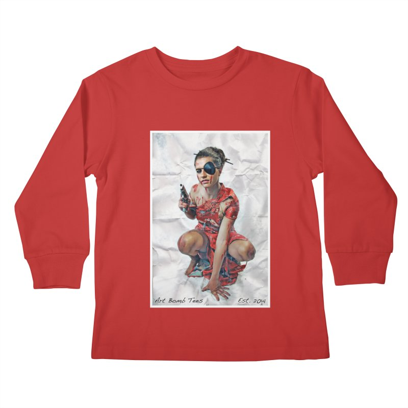 Army of One - Color Kids Longsleeve T-Shirt by artbombtees's Artist Shop