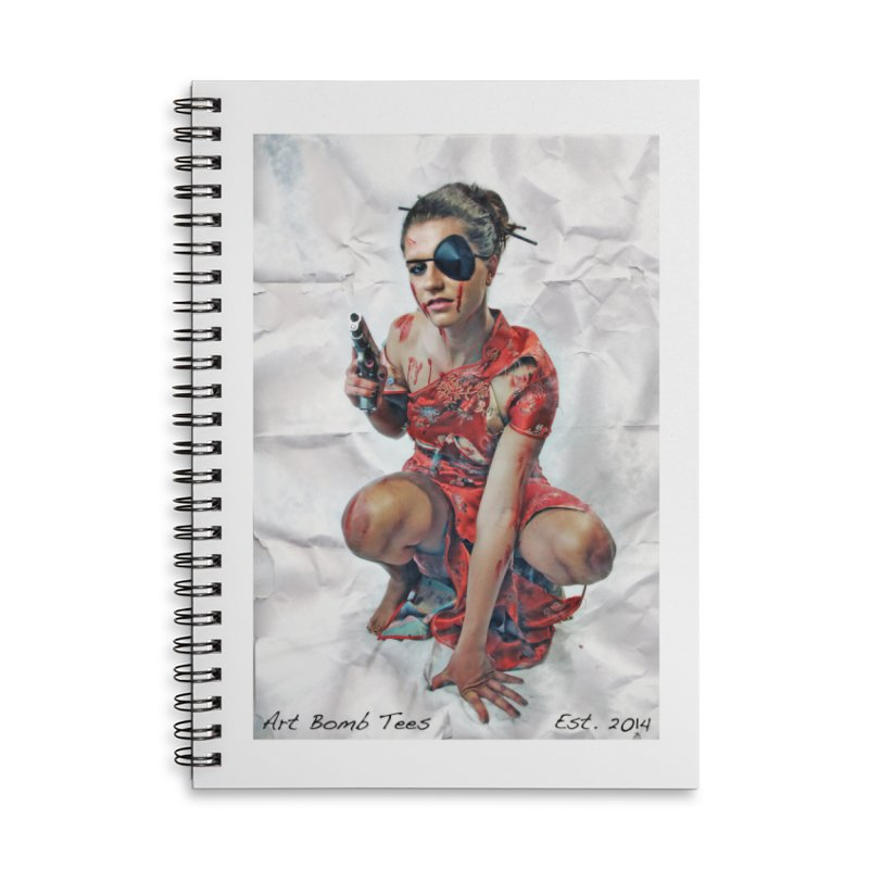 Army of One - Color Accessories Lined Spiral Notebook by artbombtees's Artist Shop