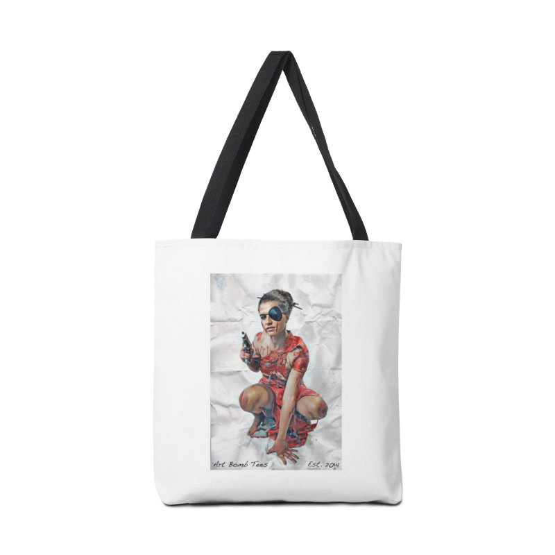Army of One - Color Accessories Bag by artbombtees's Artist Shop