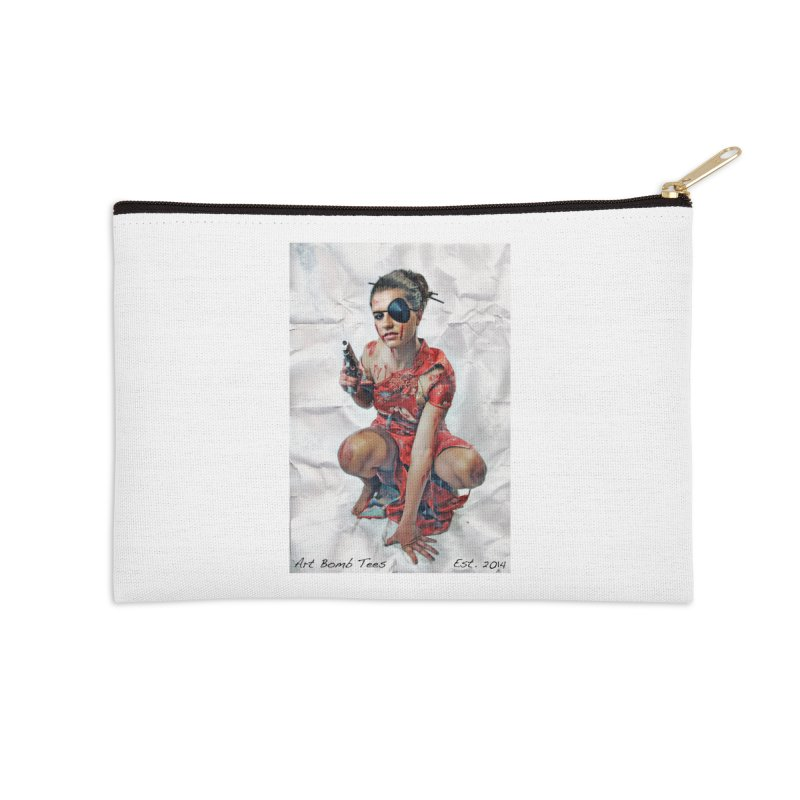 Army of One - Color Accessories Zip Pouch by artbombtees's Artist Shop
