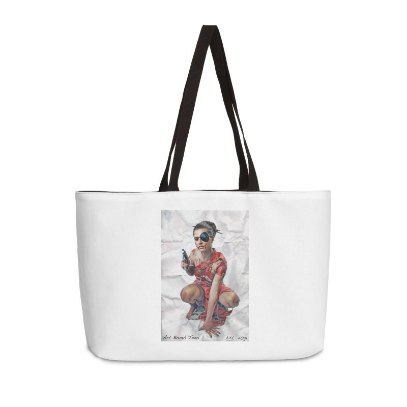 Army of One - Color Accessories Weekender Bag Bag by artbombtees's Artist Shop