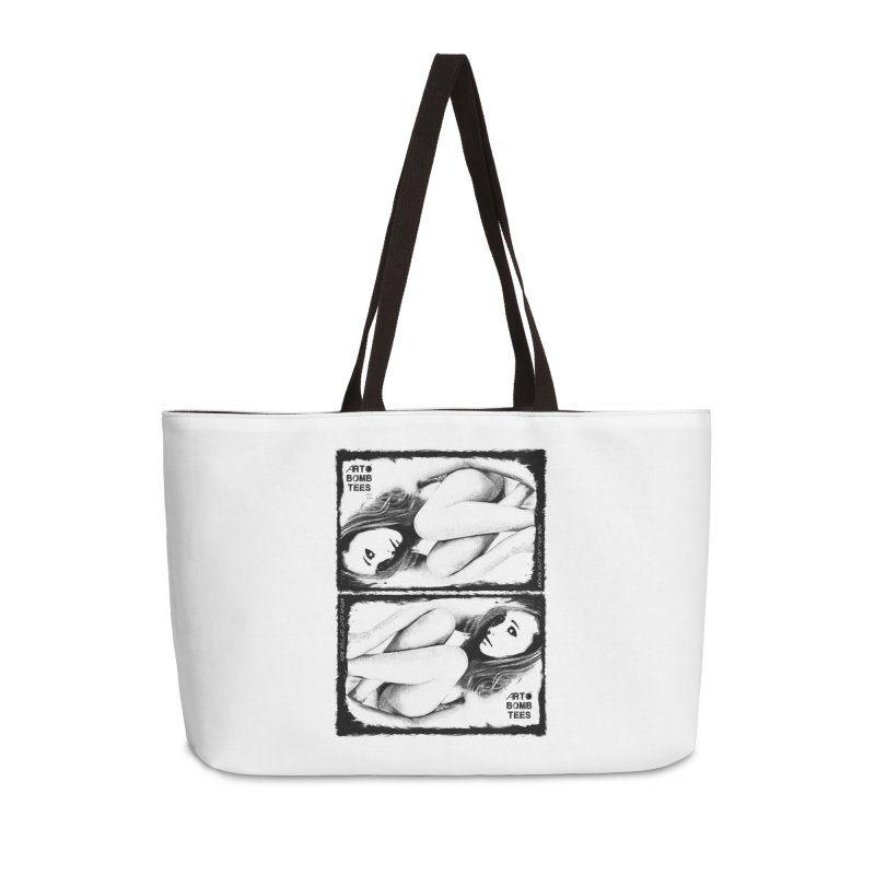 Break Out Of The Box Accessories Weekender Bag Bag by artbombtees's Artist Shop